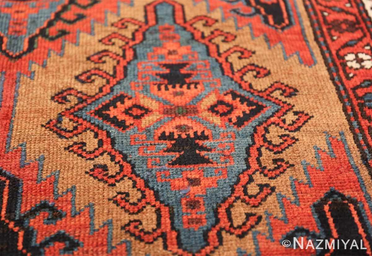 antique geometric northwest persian 49641 blue Nazmiyal