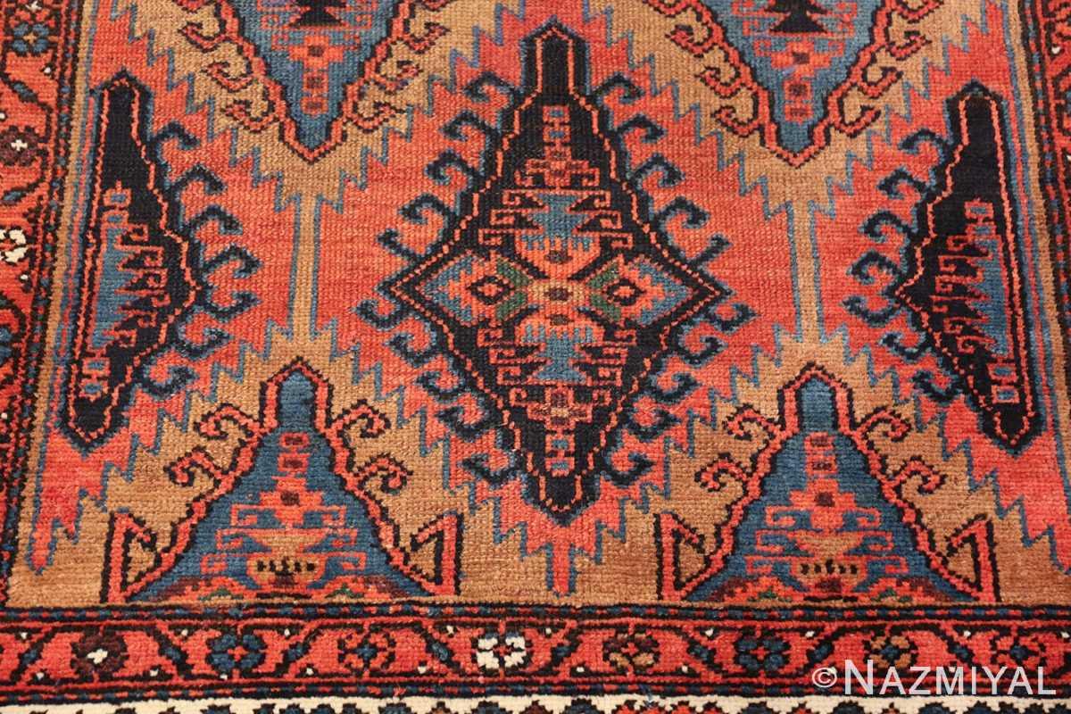 antique geometric northwest persian 49641 green Nazmiyal