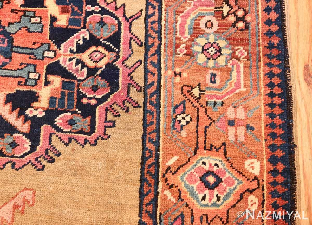 antique karabagh caucasian runner rug 49639 border Nazmiyal