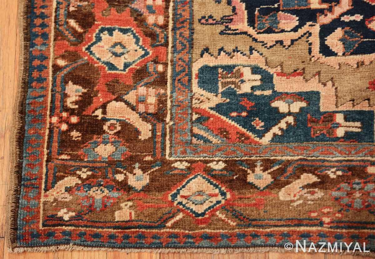 antique karabagh caucasian runner rug 49639 corner Nazmiyal