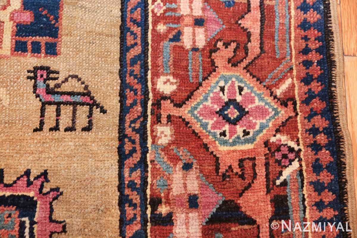 antique karabagh caucasian runner rug 49639 hunch Nazmiyal