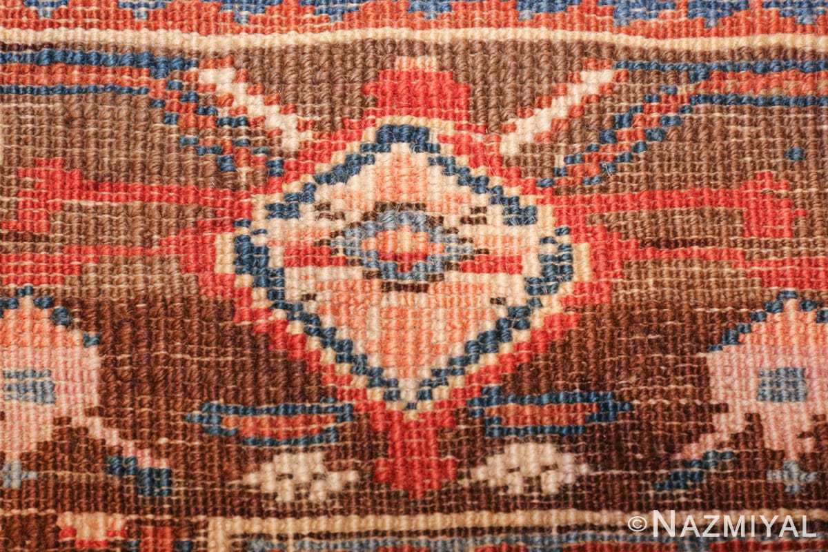 antique karabagh caucasian runner rug 49639 knots Nazmiyal