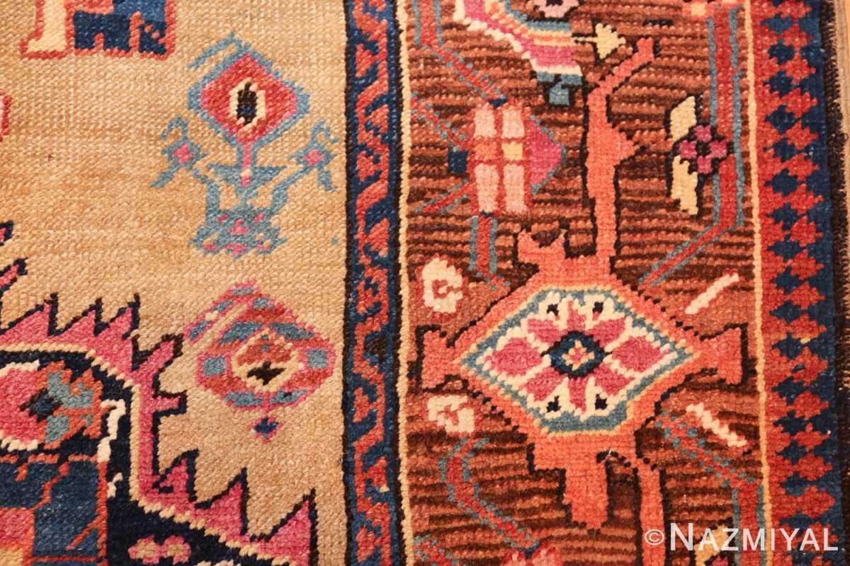 antique karabagh caucasian runner rug 49639 shape Nazmiyal