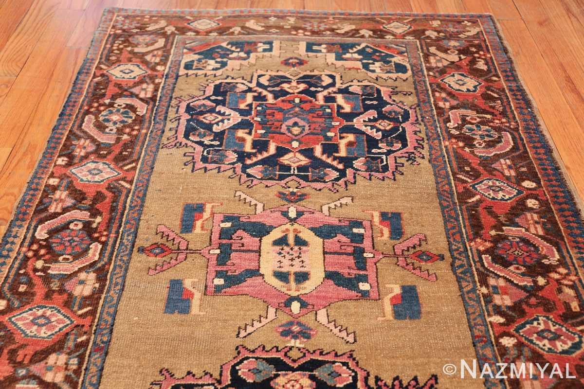 antique karabagh caucasian runner rug 49639 top Nazmiyal