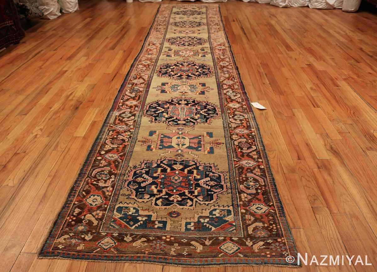 antique karabagh caucasian runner rug 49639 whole Nazmiyal