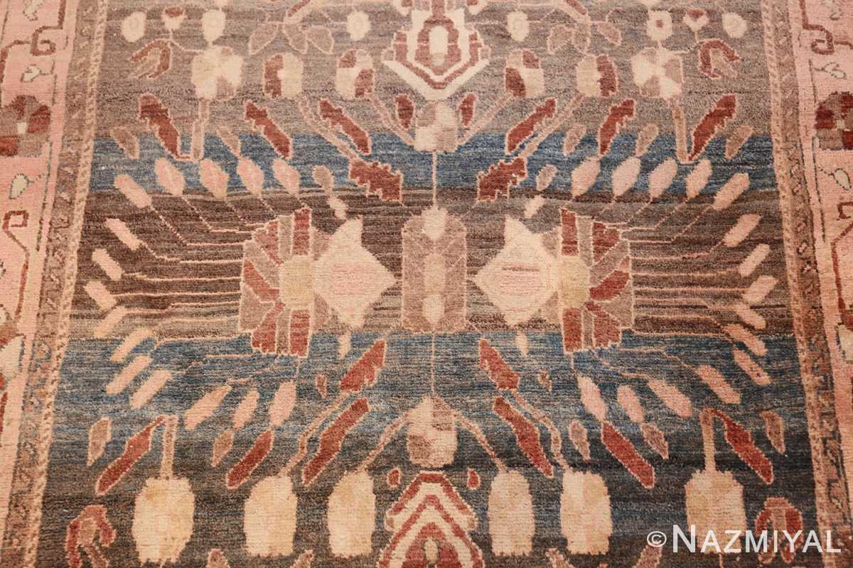 antique khorassan persian runner rug 49638 medallion Nazmiyal