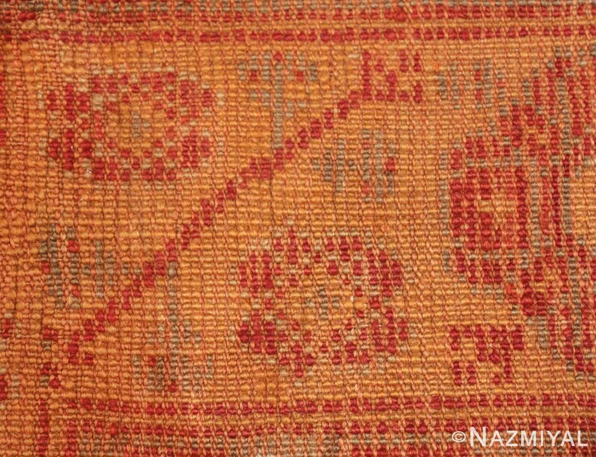 antique large oushak turkish rug 49652 knots Nazmiyal