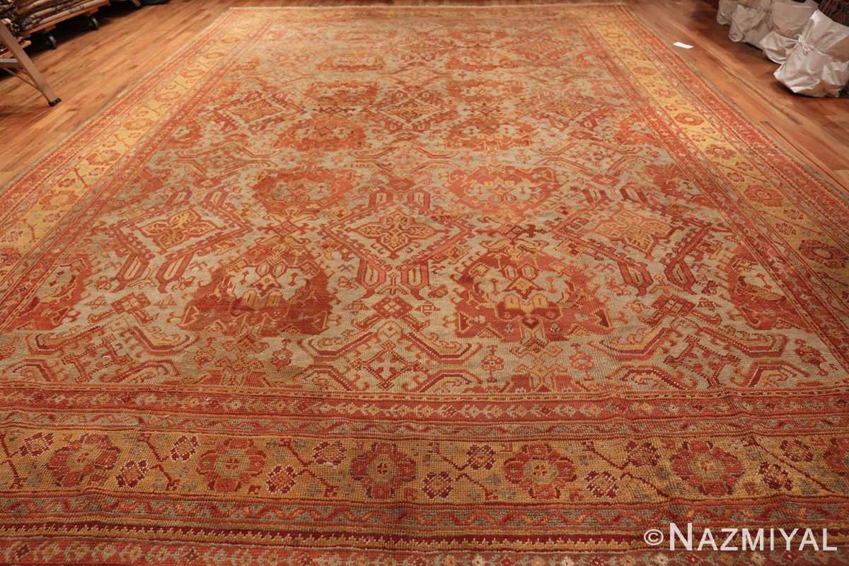antique large oushak turkish rug 49652 whole Nazmiyal
