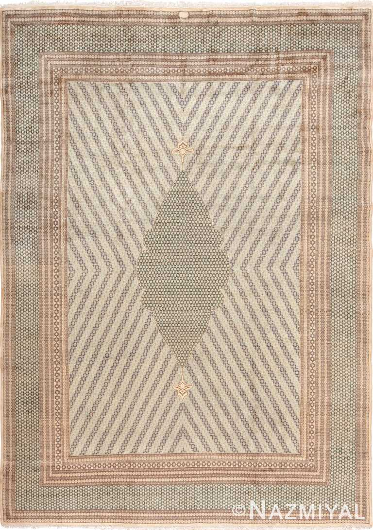 Star Of David Design Luxurious Antique Persian Khorassan Rug 49633 by Nazmiyal
