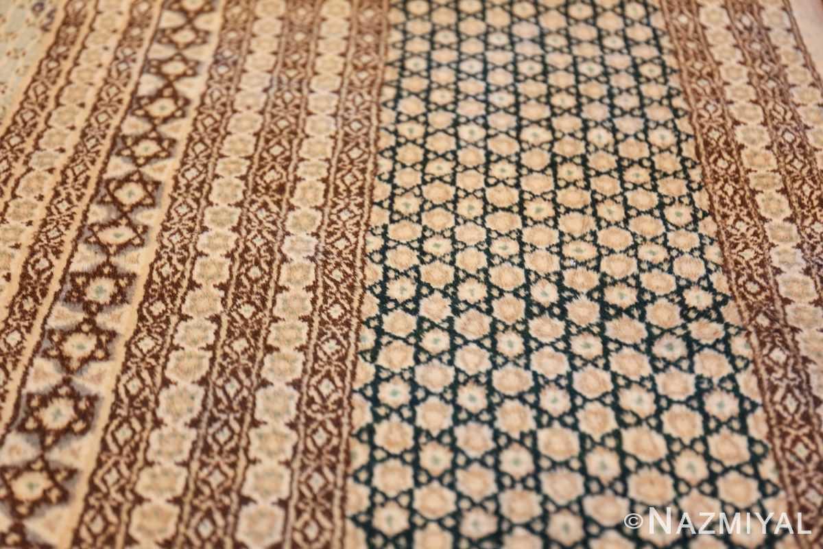 antique light blue khorassan persian rug 49633 border Nazmiyal