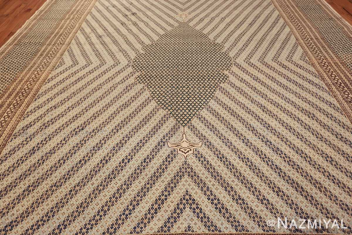 antique light blue khorassan persian rug 49633 field Nazmiyal