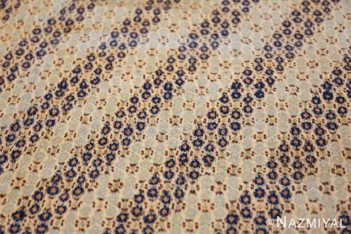 antique light blue khorassan persian rug 49633 rows Nazmiyal