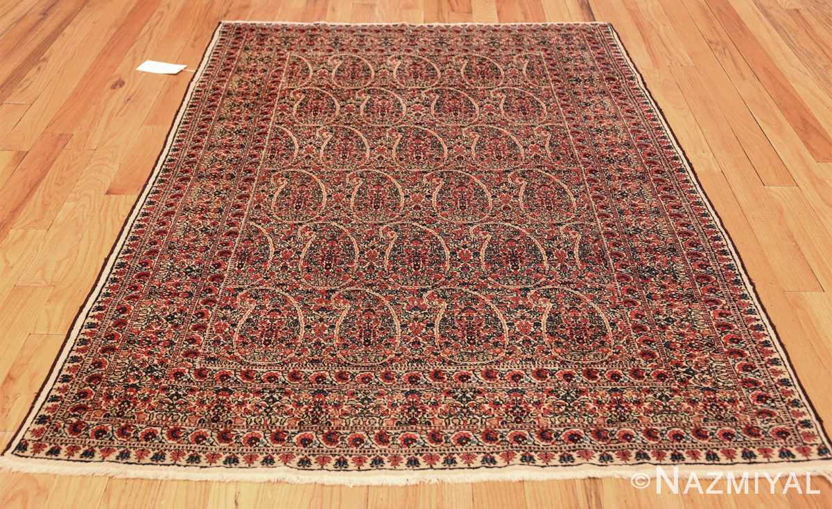 antique millefleur design kerman persian rug 49620 whole Nazmiyal