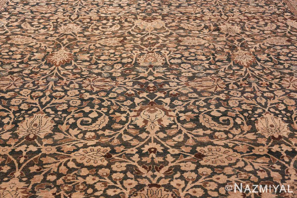 antique navy background khorassan persian rug 49655 field Nazmiyal