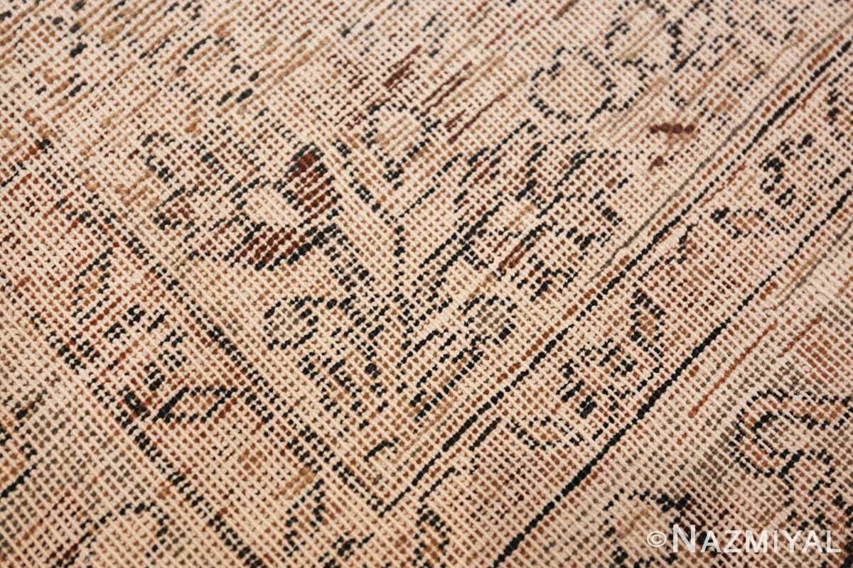 antique navy background khorassan persian rug 49655 knots Nazmiyal