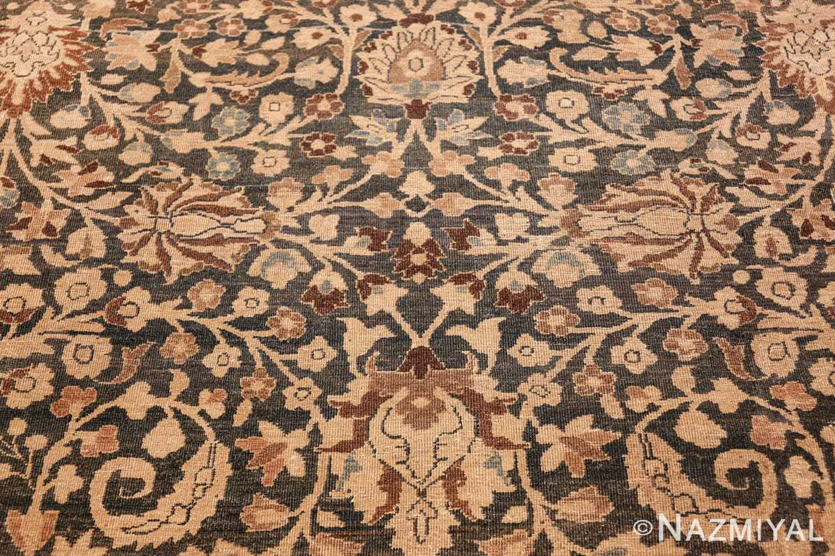 antique navy background khorassan persian rug 49655 middle Nazmiyal