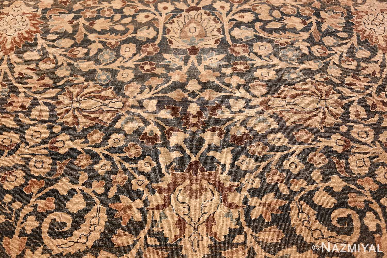 antique navy background khorassan persian rug 49655 middle Nazmiyal