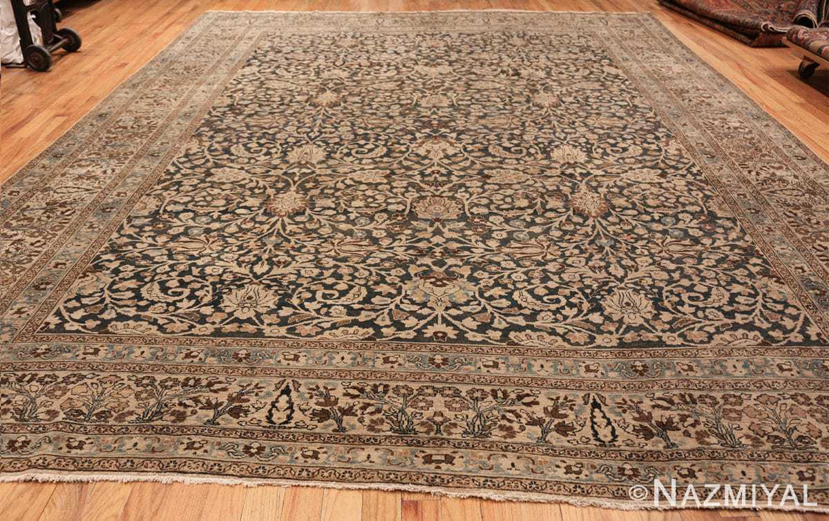 antique navy background khorassan persian rug 49655 whole Nazmiyal