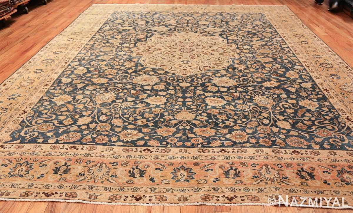 antique navy background tabriz persian rug 49635 whole Nazmiyal