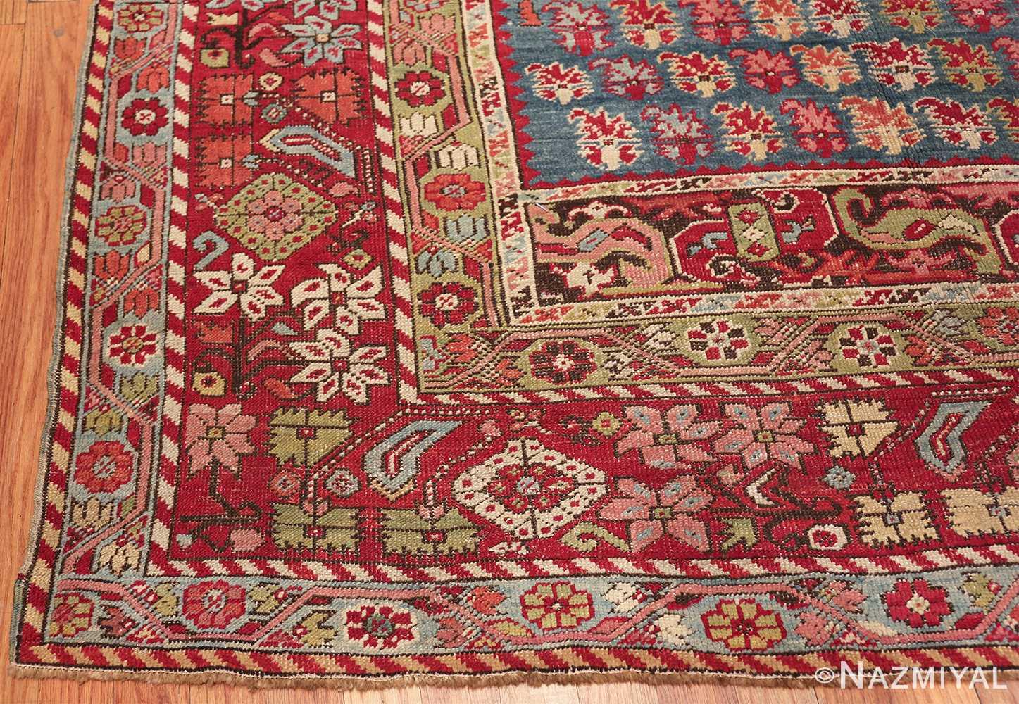 antique room size ghiordes turkish rug 49657 corner Nazmiyal