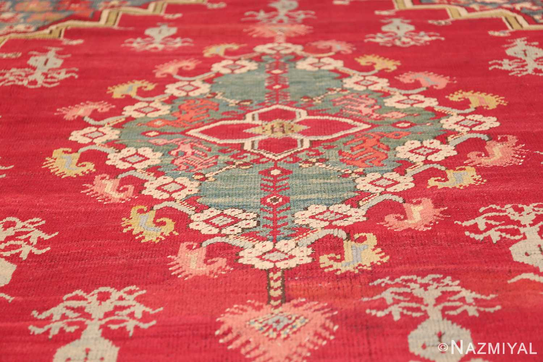 antique room size ghiordes turkish rug 49657 medallion Nazmiyal