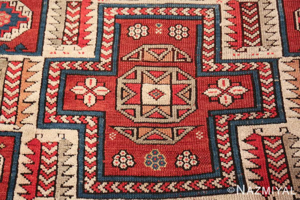antique small size west anatolian bergama rug 49505 center Nazmiyal