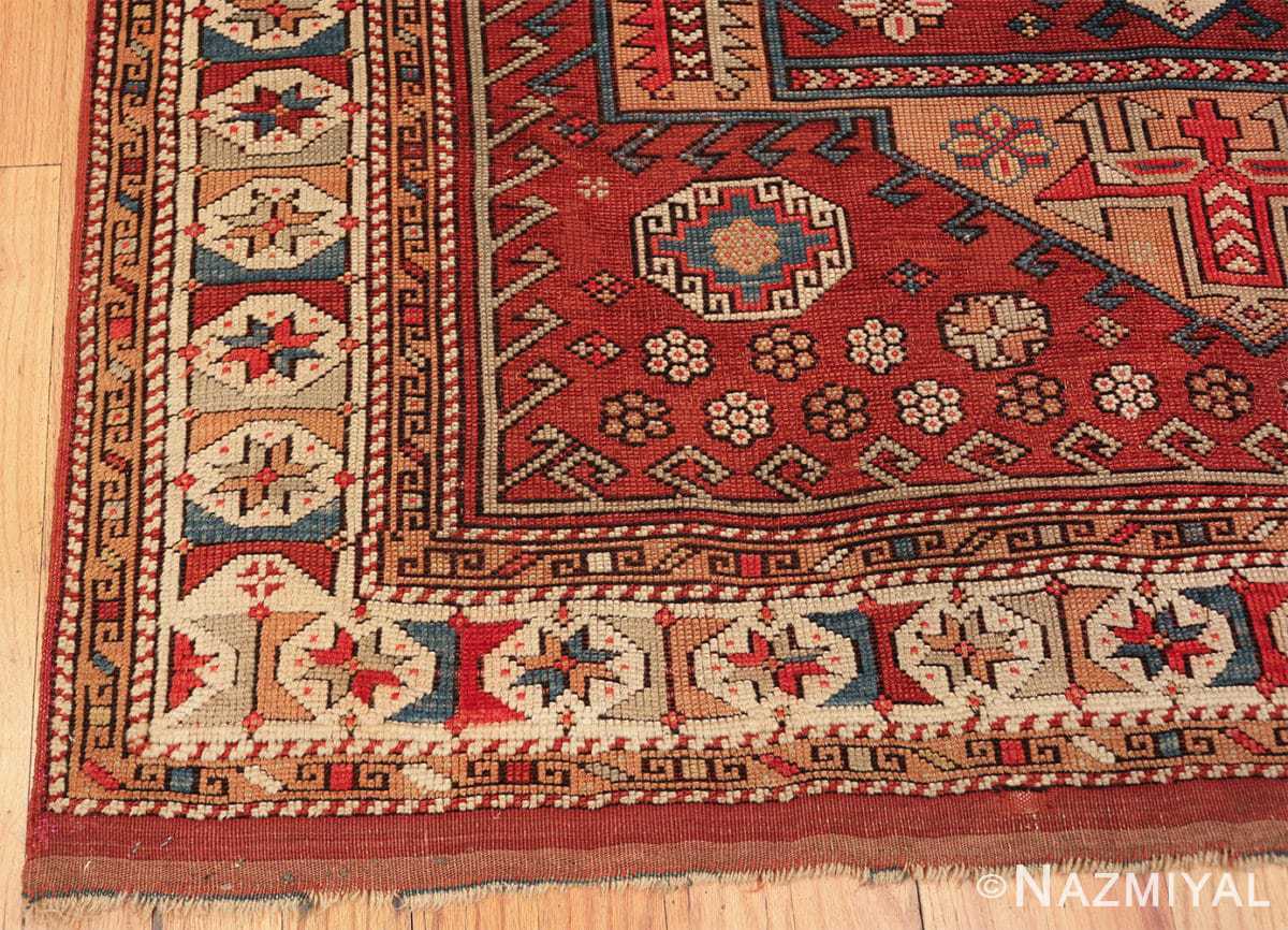 antique small size west anatolian bergama rug 49505 corner Nazmiyal