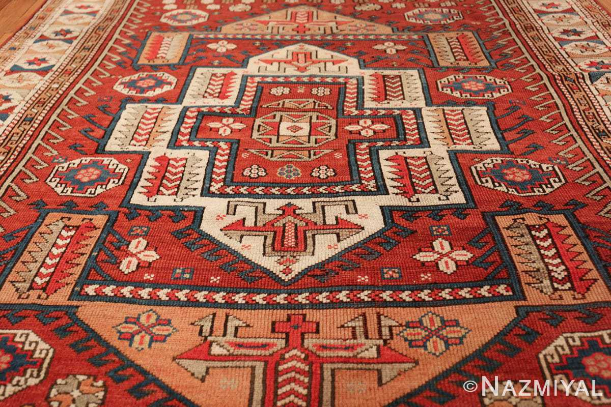 antique small size west anatolian bergama rug 49505 field Nazmiyal