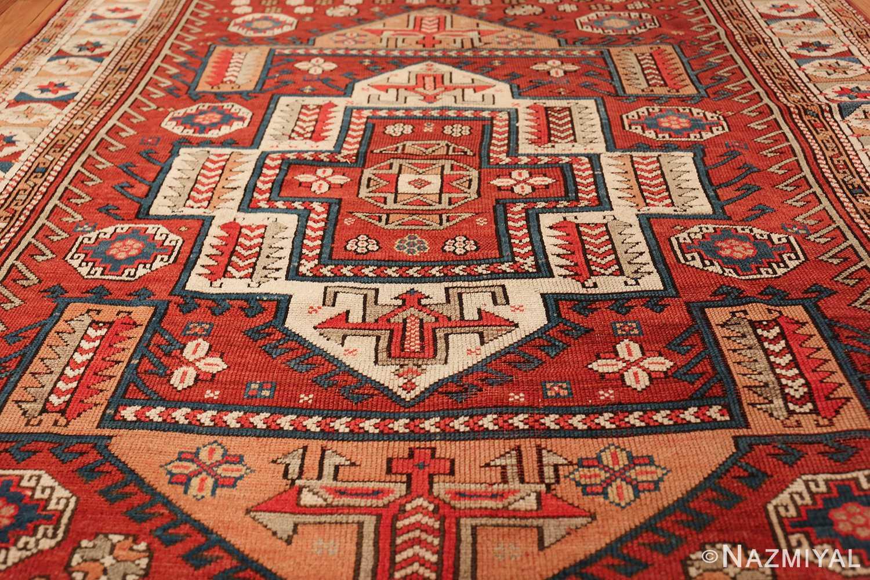antique small size west anatolian bergama rug 49505 field Nazmiyal