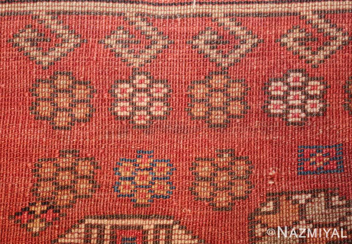 antique small size west anatolian bergama rug 49505 knots Nazmiyal