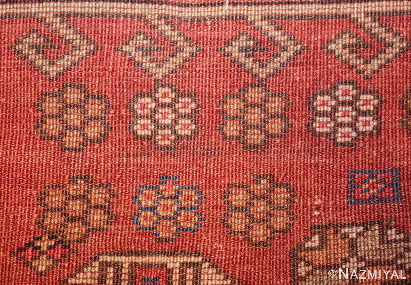 antique small size west anatolian bergama rug 49505 knots Nazmiyal