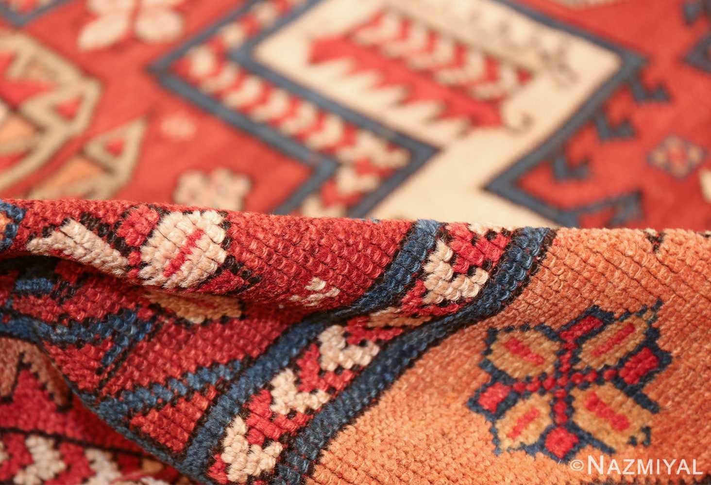 antique small size west anatolian bergama rug 49505 pile Nazmiyal