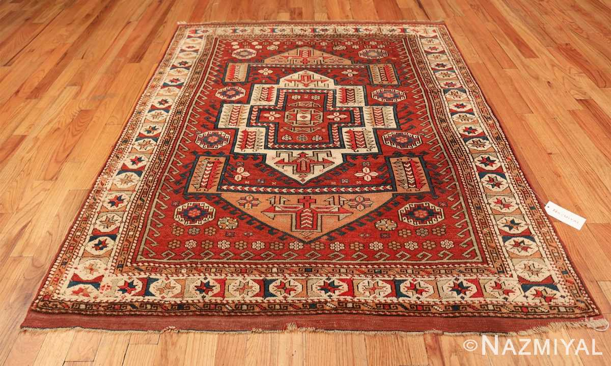 antique small size west anatolian bergama rug 49505 whole Nazmiyal