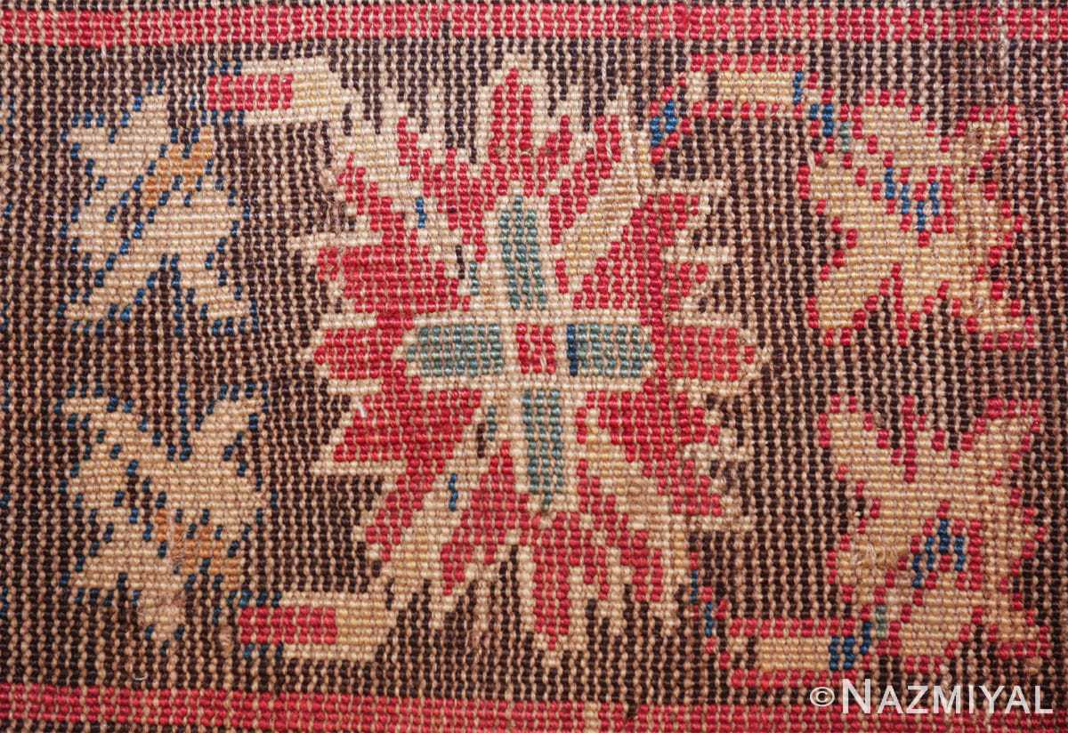 antique tribal kuba caucasian runner rug 49643 knots Nazmiyal