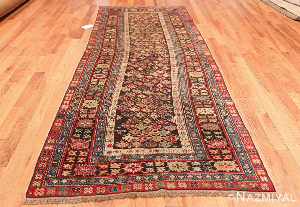 antique tribal kuba caucasian runner rug 49643 whole Nazmiyal