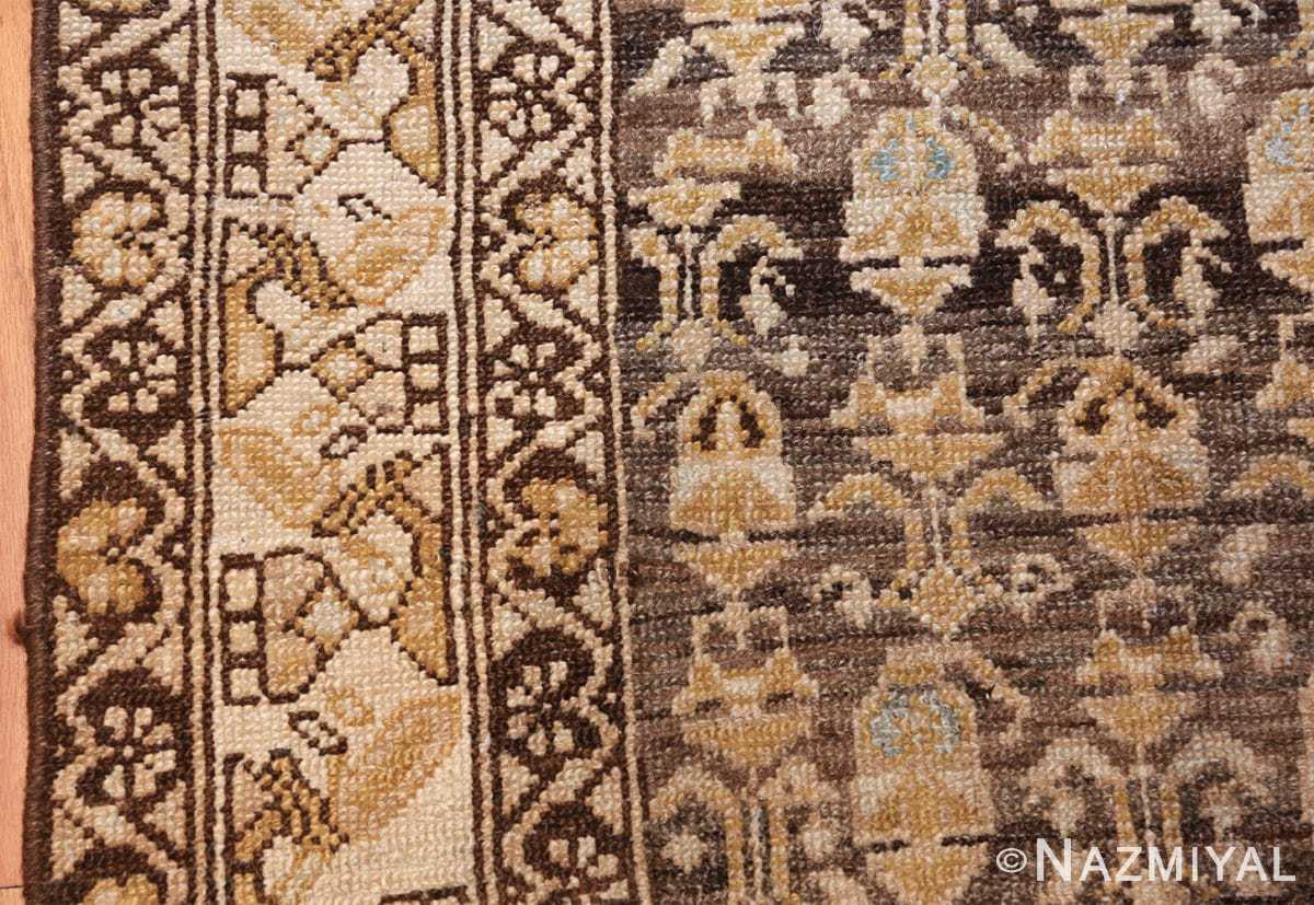antique tribal malayer persian rug 49627 border Nazmiyal