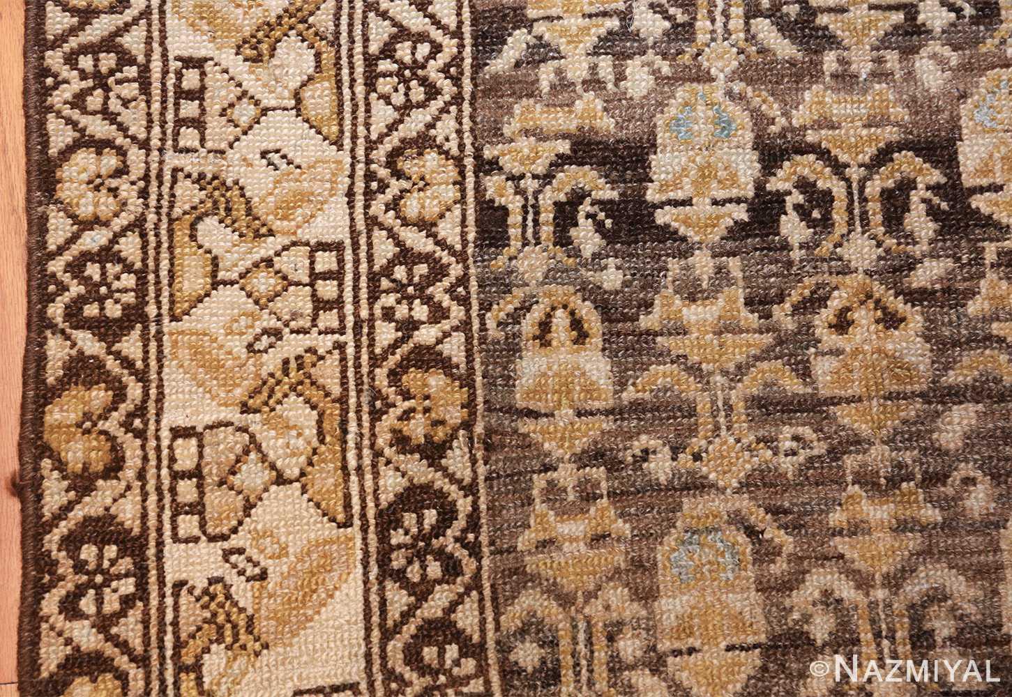 antique tribal malayer persian rug 49627 border Nazmiyal