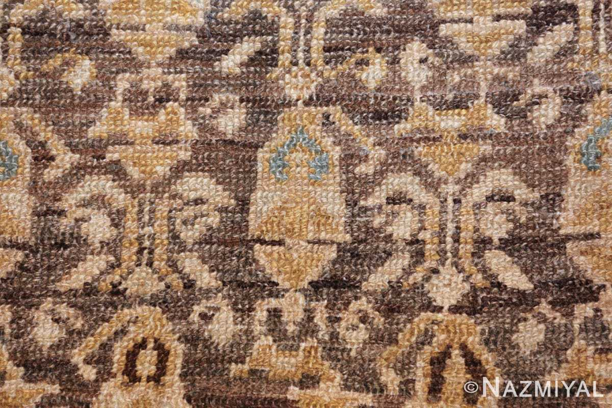antique tribal malayer persian rug 49627 brown Nazmiyal