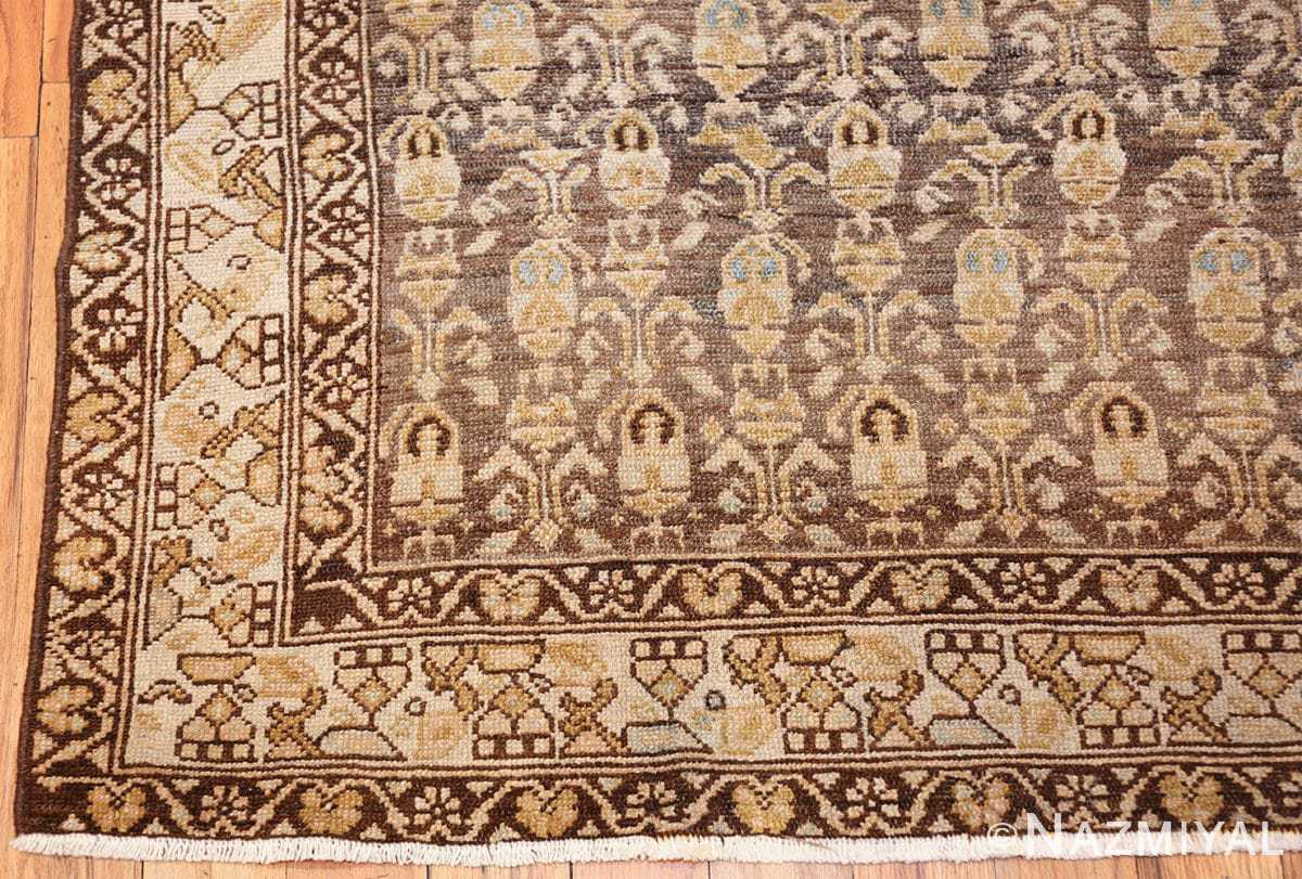 antique tribal malayer persian rug 49627 corner Nazmiyal