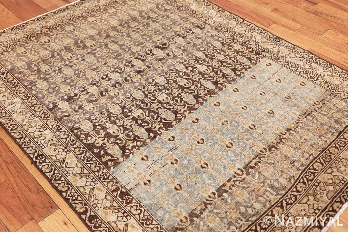 antique tribal malayer persian rug 49627 side Nazmiyal