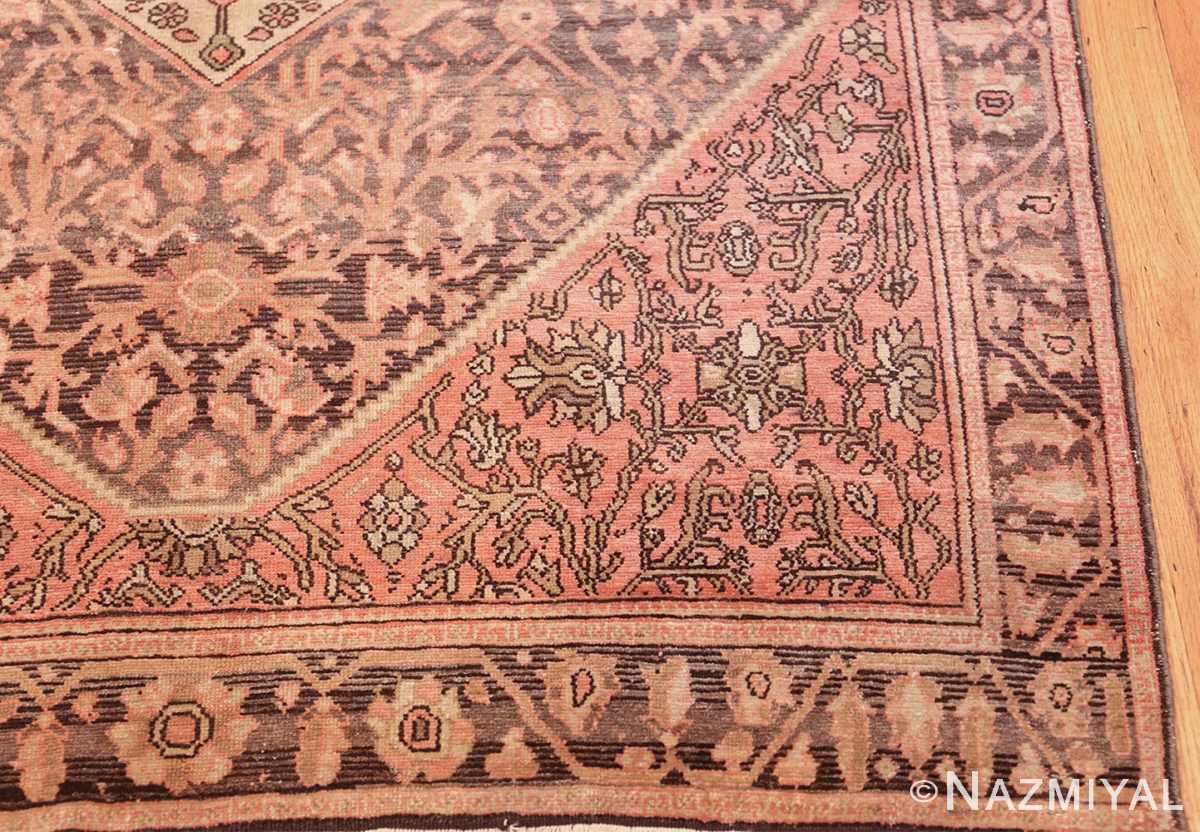 geometric antique malayer persian rug 49640 corner Nazmiyal