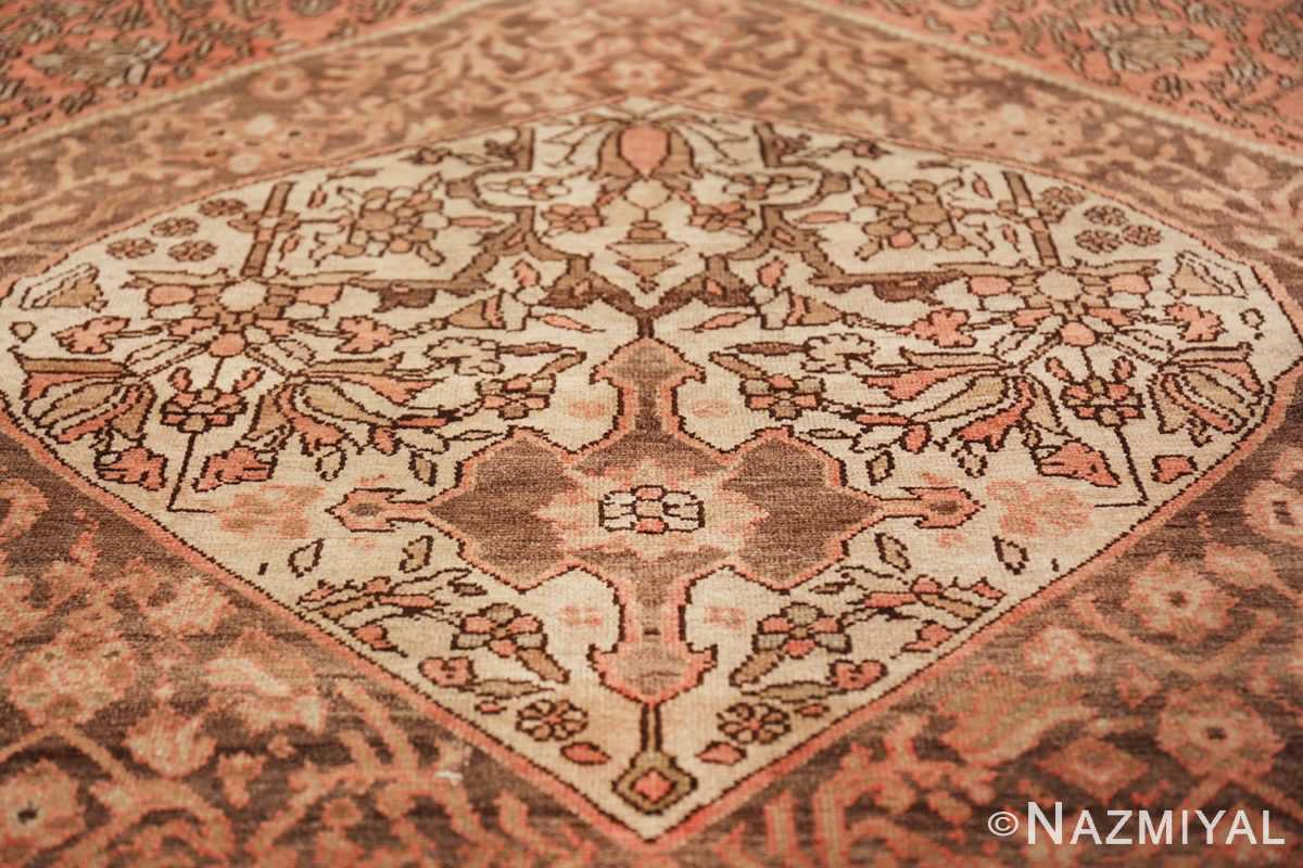 geometric antique malayer persian rug 49640 heart Nazmiyal