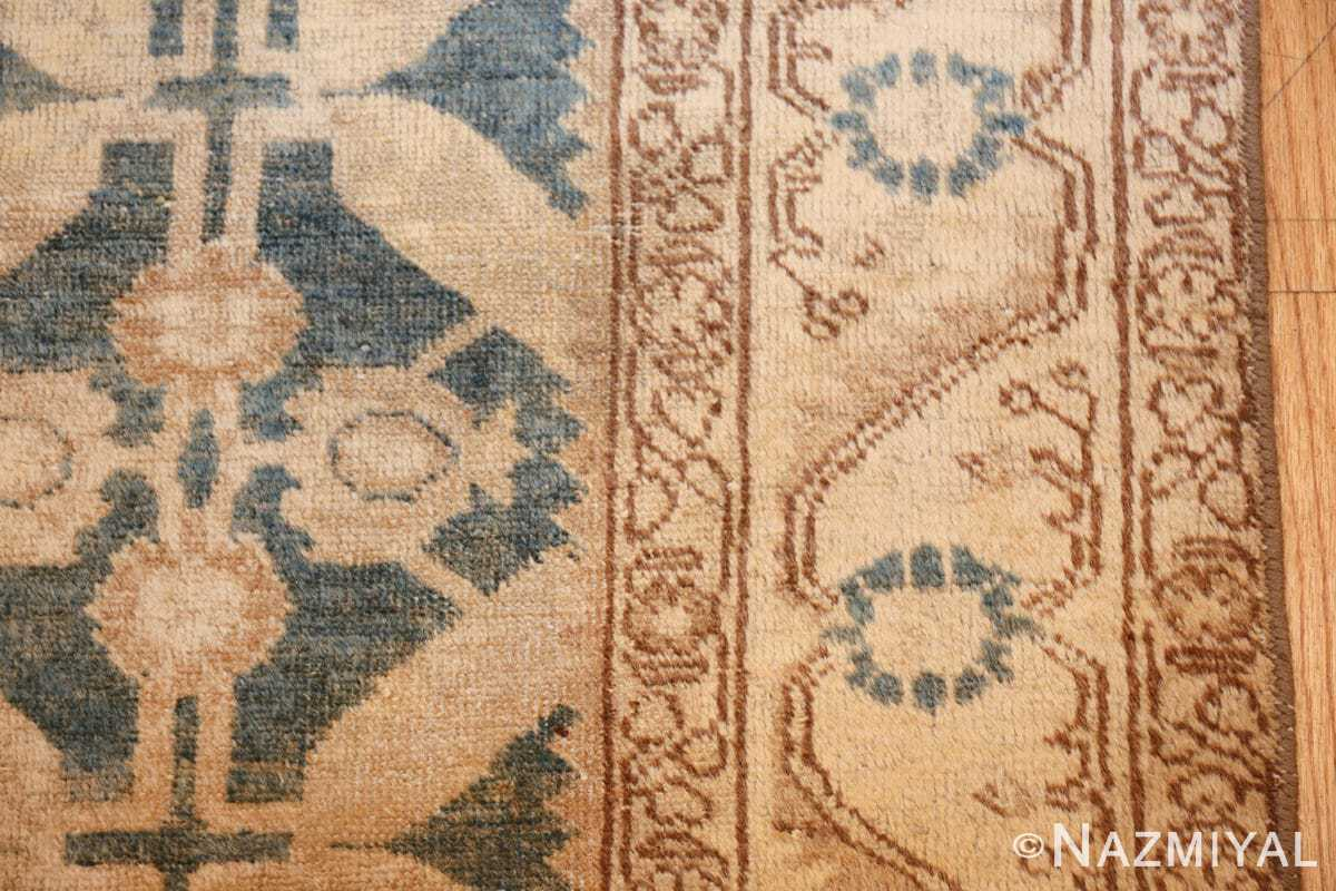 geometric antique tabriz persian rug 49647 border Nazmiyal