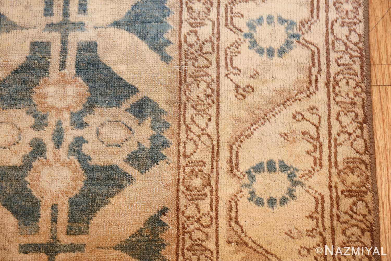 geometric antique tabriz persian rug 49647 border Nazmiyal
