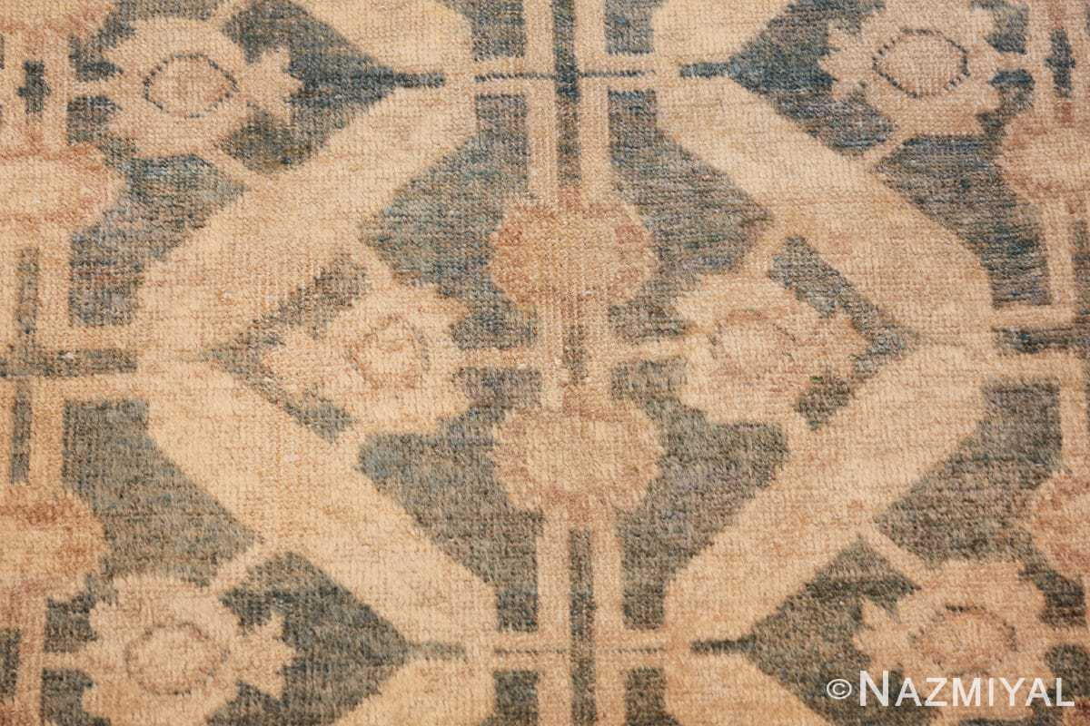 geometric antique tabriz persian rug 49647 closeup Nazmiyal