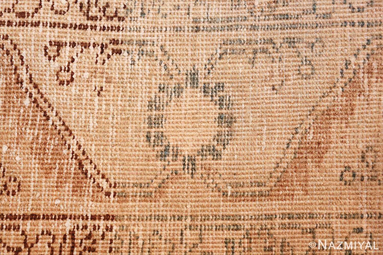 geometric antique tabriz persian rug 49647 knots Nazmiyal