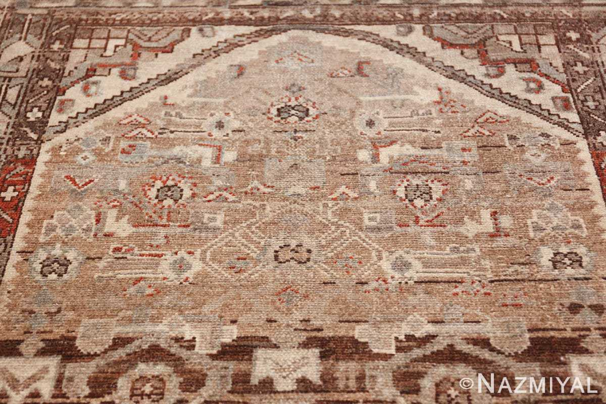 geometric designed antique tribal malayer persian runner rug 49629 arch Nazmiyal