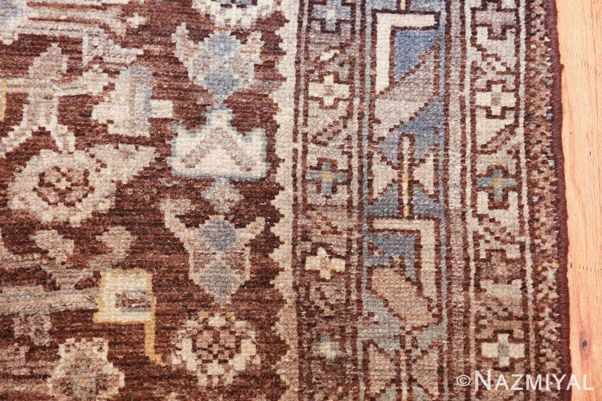 geometric designed antique tribal malayer persian runner rug 49629 border Nazmiyal