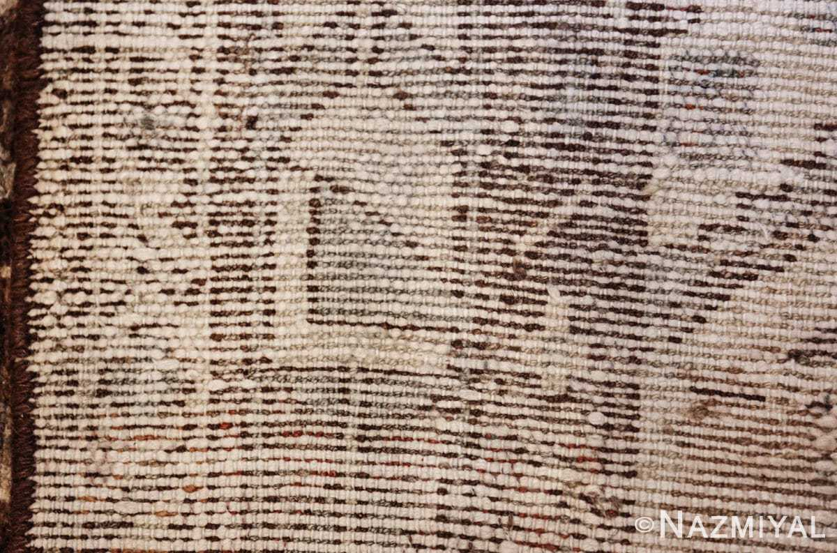 geometric designed antique tribal malayer persian runner rug 49629 knots Nazmiyal