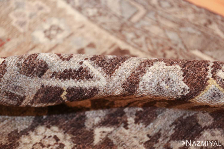 geometric designed antique tribal malayer persian runner rug 49629 pile Nazmiyal